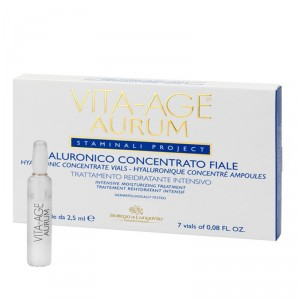 Buy Bottega Di Lungavita Age Aurum Hyaluronic Concentrate Vials - Nykaa