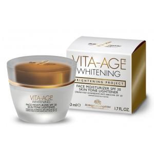 Buy Bottega Di Lungavita Age Whitening Face Moisturizer Spf 20 Skin Tone Lightener - Nykaa