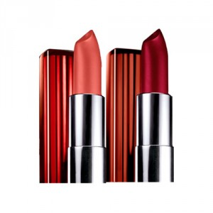 Buy Maybelline New York Color Sensational Lip Color - 553 Glamourous Red + 547 Pleasure Me - Nykaa