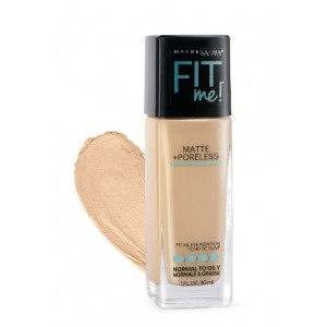 Buy Maybelline New York Fit Me Matte + Poreless Foundation # 310 Sun Beige - Nykaa