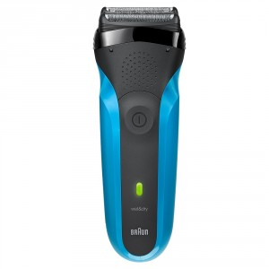 Buy Braun Series 3 310s Rechargeable Wet & Dry Electric Shaver - Blue - Nykaa