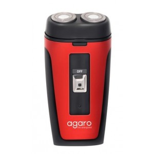 Buy Agaro Two-Head Rotary Shaver DS-581 (Red) - Nykaa