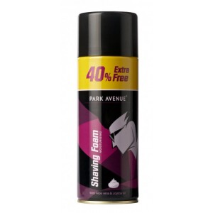 Buy Park Avenue Shaving Foam Gel 40% Extra Free - Olive Oil Derivatives - Nykaa