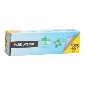Buy Park Avenue Cool Blue Lather Shaving Cream 30% Extra Free - Nykaa