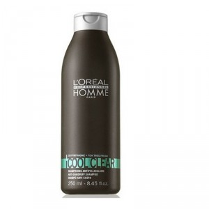 Buy L'Oreal Professionnel Homme Cool Clear Anti-Dandruff Shampoo - Nykaa