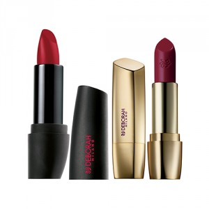 Buy Deborah Atomic Red Mat Lipstick - 24 Hot Red + Milano Red Lipstick - 34 Marsala - Nykaa