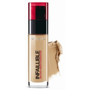 Buy L'Oreal Paris Infallible 24h Foundation - 200 Golden Sand - Nykaa