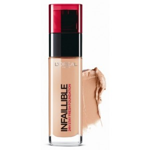 Buy L'Oreal Paris Infallible 24h Foundation - 300 Amber - Nykaa