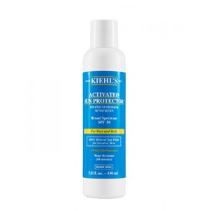 Buy Kiehl's Activated Sun Protector Sunscreen For Body SPF 50 - Nykaa