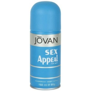 Buy Jovan Sex Appeal Deodorant Body Spray For Men  - Nykaa