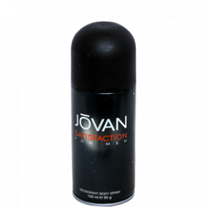 Buy Jovan Satisfaction Deodorant Body Spray For Men - Nykaa