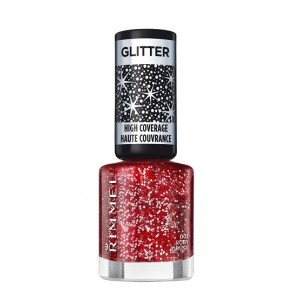 Buy Rimmel Finishing Touch Glitter Top Coat - Ruby Crush 002 - Nykaa