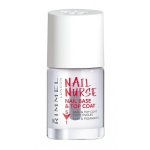 Buy Rimmel Nail Nurse Nail Base & Top Coat 5 in1  - Nykaa
