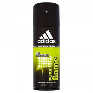 Buy Adidas Pure Game Deo Spray - Nykaa