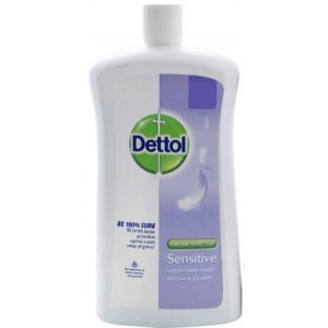 Buy Dettol Liquid Soap Sensitive Jar - Nykaa