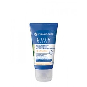 Buy Yves Rocher Pure System Pore Clearing Mask Ultra Clean - Nykaa