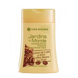 Buy Herbal Yves Rocher Jardins Du Monde Velvety Shower Cream Coffee Beans From Brazil - Nykaa