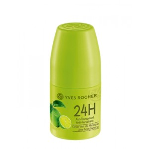 Buy Herbal Yves Rocher 24H Anti-Perspirant Lime From Mexico - Nykaa
