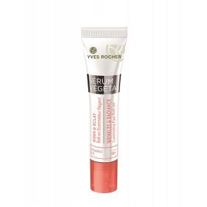 Buy Yves Rocher Serum Vegetal Wrinkles & Radiance Luminizing Eye Roll On - Nykaa