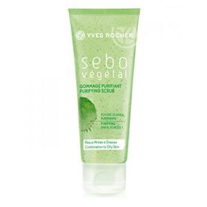 Buy Yves Rocher Sebo Vegetal Purifying Scrub - Nykaa