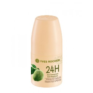 Buy Yves Rocher 24H Anti-Perspirant Almond From California  - Nykaa