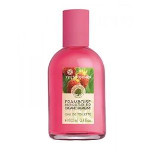 Buy Yves Rocher Les Plaisirs Nature Organic Raspberry Eau de Toilette - Nykaa