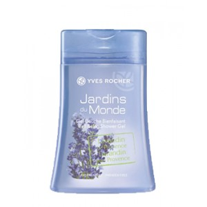 Buy Herbal Yves Rocher Jardins Du Monde Well Being Shower Gel Lavandin From Provence - Nykaa