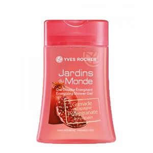 Buy Yves Rocher Jardins Du Monde Energizing Shower Gel Pomegranate From Spain - Nykaa