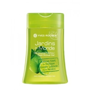 Buy Herbal Yves Rocher Jardins Du Monde Fresh Shower Gel Lime From Mexico - Nykaa