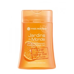 Buy Yves Rocher Jardins Du Monde Energizing Shower Gel Orange Zest From Florida - Nykaa