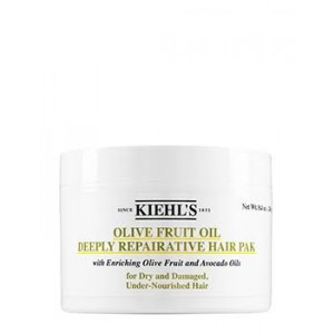 Buy Kiehl's Olive Fruit Oil Deeply Repairative Hair Pak - Nykaa