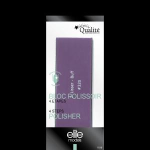 Buy Elite Models ABC1018 4 Step Block Nail Polisher - Nykaa