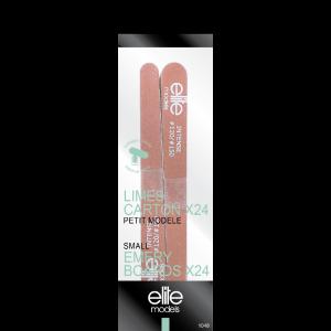 Buy Elite Models ABC1048 Small Nail Emery Board Set Of 24 - Nykaa