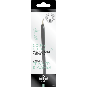 Buy Elite Models ABC1053 Cuticle Trimmer & Pusher - Nykaa