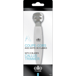 Buy Elite Models ABC1122 Callus Trimmer With 5 Blades - Nykaa