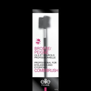 Buy Elite Models ABC1219 Professional Comb Brush For Eyelash And Eyebrows - Nykaa