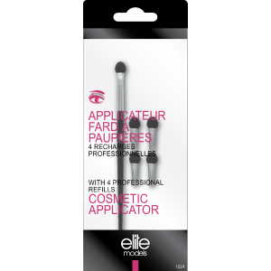 Buy Elite Models ABC1224 Cosmetic Applicators With 4 Professional Refills - Nykaa