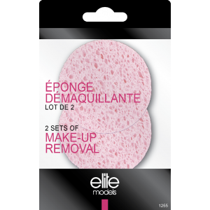 Buy Elite Models ABC1255 Makeup Removal Sponge Set Of 2 - Nykaa
