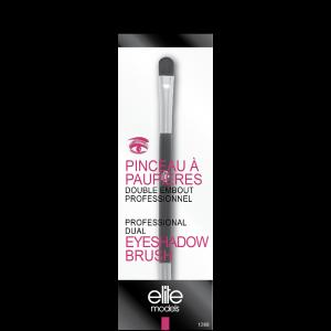 Buy Elite Models ABC1268 Professional Dual Eyeshadow Brush - Nykaa