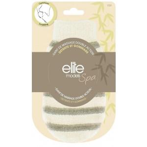Buy Elite Models ABC1333 Spa Dual Action Massage Glove - Nykaa