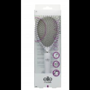 Buy Elite Models ABC5020C Metal Bristles Cushion Hair Brush - White - Nykaa