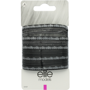 Buy Elite Models ABC5101B Fashion Hair Elastic Bands - Black - Nykaa