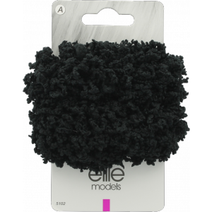Buy Elite Models ABC5102C Fashion Hair Scrunchies - Black - Nykaa