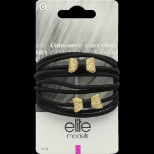 Buy Elite Models ABC5105A Fashion Hair Elastic Bands - Gold - Nykaa