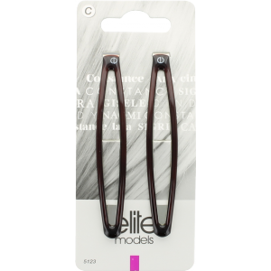 Buy Elite Models ABC5123C Fashion Hair Clips - Brown - Nykaa