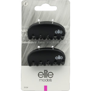 Buy Elite Models ABC5124A Fashion Mini Hair Clips - Black - Nykaa