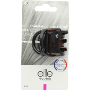 Buy Elite Models ABC5203B Claw Hair Clip (Made In France) - Brown - Nykaa
