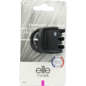 Buy Elite Models ABC5203C Claw Hair Clip (Made In France) - Matte Black - Nykaa