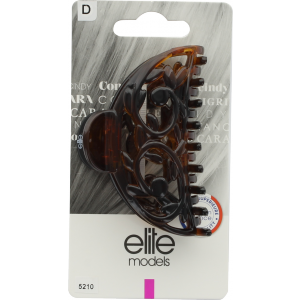 Buy Elite Models ABC5210A Claw Hair Clip (Made In France) - Brown - Nykaa