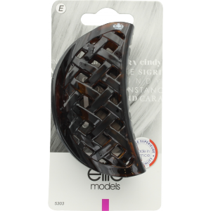 Buy Elite Models ABC5303A Claw Hair Clip (Made In France) - Brown - Nykaa
